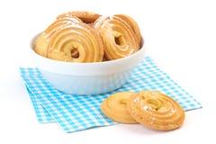 Biscuits avec du sucre glace Image libre de droits
