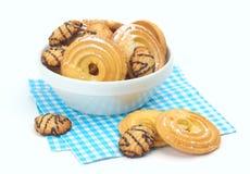 Biscuits avec du sucre glace Photo libre de droits