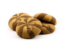 Biscuits avec la confiture Photos stock