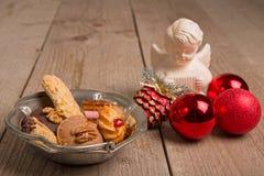 Biscuits avec la décoration de Noël Photographie stock