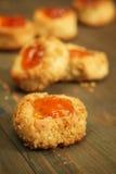 Biscuits avec le bourrage Images stock