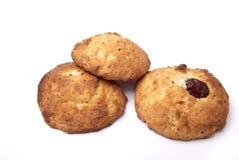 Biscuits avec une cerise Photo libre de droits