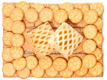 Biscuits (background) Royalty Free Stock Photography