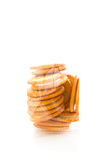 Biscuits in a bag Royalty Free Stock Images