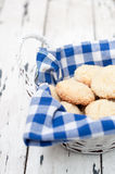 Biscuits in the basket Royalty Free Stock Photo