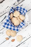 Biscuits in the basket Royalty Free Stock Image