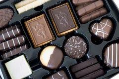 Biscuits belges de chocolat photos libres de droits