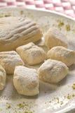 Biscuits blancs Photos libres de droits