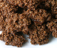 Biscuits bouillis de baisse photographie stock