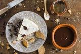 Biscuits cake Royalty Free Stock Photography
