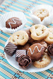 Biscuits And Candies Stock Images