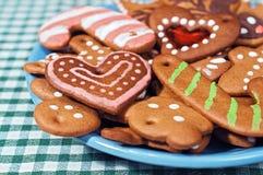 Biscuits caoutchouteux de pain d'épice image libre de droits