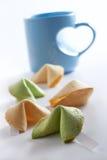 Biscuits chanceux Photo libre de droits