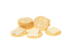 Biscuits and cheese Stock Photo