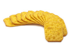 Biscuits with cheese Royalty Free Stock Photography