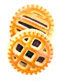 Biscuits with Cherry Jam Royalty Free Stock Image