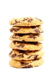 Biscuits with chocolate chips Stock Images