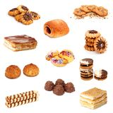 Biscuits collage Stock Images