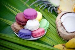 Biscuits colorés Photo stock