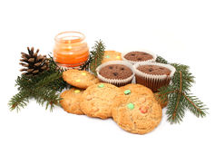 Biscuits and cookies Stock Images