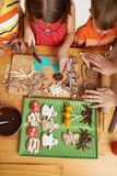 Biscuits créatifs Photo libre de droits