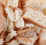 Biscuits criqués Images stock