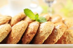 Biscuits croustillants Photo stock