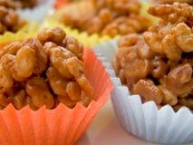 biscuits cuits au four de céréale à la maison Images libres de droits