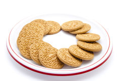 Biscuits cuits au four Images stock