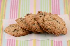 Biscuits cuits au four frais Images stock