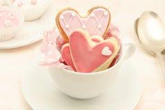 Biscuits décorés Image stock