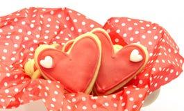 Biscuits décorés Image libre de droits