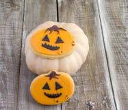 Biscuits décorés Photo stock