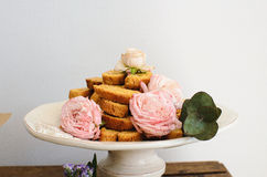 Biscuits délicieux photographie stock
