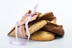 Biscuits délicieux de chocolat photos libres de droits
