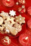 Biscuits délicieux de Noël image libre de droits