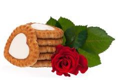 Biscuits délicieux frais Images libres de droits