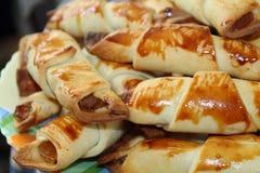 Biscuits délicieux pour le petit déjeuner Photos libres de droits