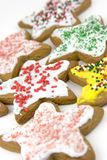 Biscuits d'étoile images stock