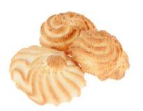 Biscuits d'or Photographie stock libre de droits