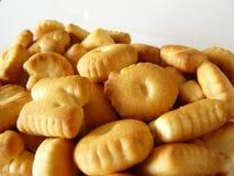 Biscuits d'alphabet Photographie stock libre de droits