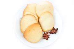 Biscuits d'amande Photographie stock