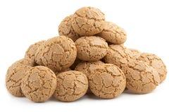 Biscuits d'amande photographie stock libre de droits