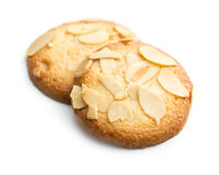Biscuits d'amande douce photographie stock