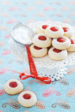 Biscuits d'amande faits maison Image libre de droits