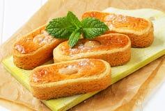Biscuits d'amande néerlandais photographie stock libre de droits