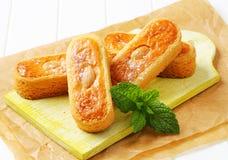 Biscuits d'amande néerlandais images libres de droits