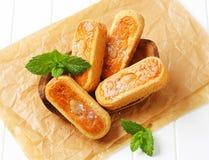 Biscuits d'amande néerlandais image libre de droits