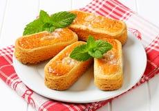 Biscuits d'amande néerlandais photos stock