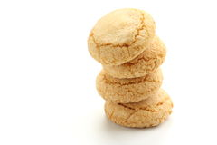 Biscuits d'Ameretti Image libre de droits
